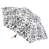 hands+ 1級遮光日傘 折りたたみ傘 50cm ネイビーフラワー│レインウェア・雨具 日傘
