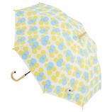 hands+ 1級遮光日傘 長傘 50cm ドットイエロー│レインウェア・雨具 日傘