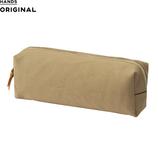 東急ハンズオリジナル 帆布ボックスペンケース グレージュ│ペンケース ペンケース・筆箱