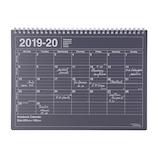 【2019年4月始まり】 マークス(MARKS) ノートブックカレンダーM A4 マンスリー 19SDR‐NB1‐BK ブラック 月曜始まり