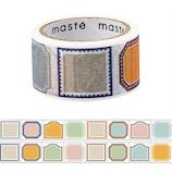 マークス(MARKS) maste 水性ペンで書けるマスキングテープ ミシン目入り マンスリー用 手帳デコ MST−FA11−A フレーム