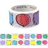 マークス(MARKS) maste 水性ペンで書けるマスキングテープ ミシン目入り マンスリー用 手帳デコ MST−FA11−E 吹き出し