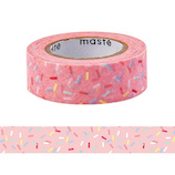 マークス(MARKS) maste 水性ペンで書けるマスキングテープ 小巻 MST−FA21−C コンフェッティ│シール マスキングテープ