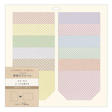 マークス(MARKS) バインダー式アルバム ログカードセット L判 BAL‐PDC01‐B パターン│アルバム・フォトフレーム アルバムデコレーション