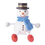 【クリスマス】 マークス(MARKS) レスニー・スノーマン ハラチキ HRA-MD22-A ホワイト