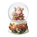 【クリスマス】 マークス(MARKS) スノードーム S GUO-SD103-C サンタ B