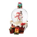 【クリスマス】 マークス(MARKS) スノードーム S GUO-SD104-D スノーマン