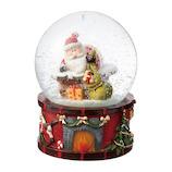 【クリスマス】 マークス(MARKS) スノードーム M GUO-SD106-B サンタ A