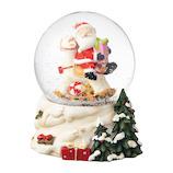 【クリスマス】 マークス(MARKS) スノードーム M GUO-SD106-D サンタ C