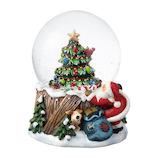 【クリスマス】 マークス(MARKS) スノードーム M GUO-SD107-A ツリー