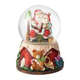 【クリスマス】 マークス(MARKS) スノードーム オルゴール GUO-SD108-C サンタ C