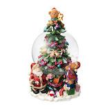 【クリスマス】 マークス(MARKS) スノードーム オルゴール ツリー GUO-SD109-A クリスマス