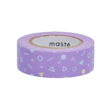マークス(MARKS) 水性ペンで書けるマスキングテープ MST−FA23−E 幾何学パターン