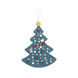 【クリスマス】 マークス(MARKS) フェルトアドベントカレンダー モココ NP−T28−A ツリー
