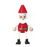 【クリスマス】 マークス(MARKS) 木の人形 サンタクロース ハラチキ HRA−WT26−A レッド