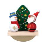 【クリスマス】 マークス(MARKS) 手のひら人形 ハラチキ HRA−PD41 シーソー