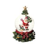 【クリスマス】 マークス(MARKS) スノードーム M GUO−SD118−B サンタB