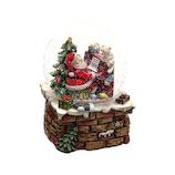 【クリスマス】 マークス(MARKS) スノードーム オルゴール GUO−SD124−A サンタA