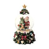 【クリスマス】 マークス(MARKS) スノードーム オルゴール GUO−SD125−B サンタB