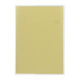 【2020年12月始まり】 マークス(MARKS) 家計簿付き・紙カバー B6 マンスリー 21WDR-MDH01-YE イエロー 月曜始まり