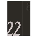 【2021年12月始まり】 マークス(MARKS) マグネット22 レフト 変型A6 ウィークリー 22WDR-AHF01-BK ブラック 月曜始まり│手帳・日記帳 ダイアリー