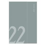 【2021年12月始まり】 マークス(MARKS) マグネット22 レフト 変型B6 ウィークリー 22WDR-CH08-GN グリーン 月曜始まり│手帳・日記帳 ダイアリー