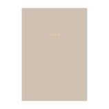 【2022年1月始まり】 マークス(MARKS)EDiT 1日1ページ手帳 ニュアンスカラー A6 デイリー 22WDR-ETD02-GY グレー 月曜始まり│手帳・日記帳 ダイアリー