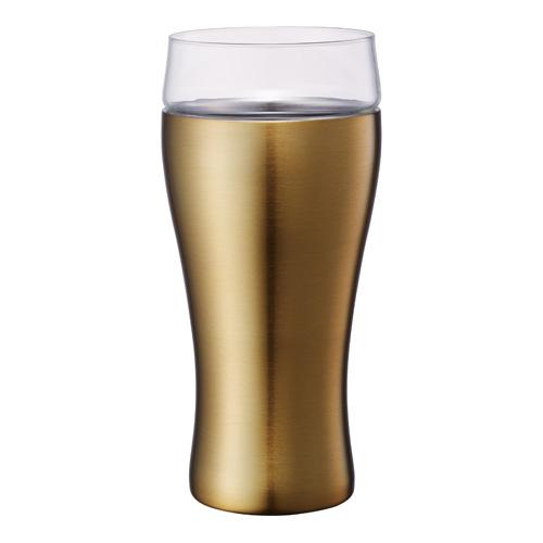 ON℃ZONE(オンドゾーン) 飲みごこちビールタンブラー OZNB420GD ゴールド 420ml