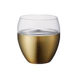 ON℃ZONE(オンドゾーン) 飲みごこちロックタンブラー OZNR250GD ゴールド 250ml