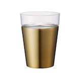 ON℃ZONE(オンドゾーン) 飲みごこちタンブラー OZNT350GD ゴールド 350ml