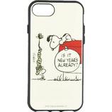 【iPhoneSE(第2世代)/8/7/6s/6】 グルマンディーズ ピーナッツ イーフィット(IIIIfit) スマートフォンケース SNG-475A ドッグハウス│携帯・スマホケース iPhoneケース