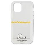 【iPhone12mini】 グルマンディーズ ショーケースプラス(SHOWCASE+) ピーナッツ SNG-513B レター