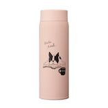 アニマルブック デザインボトル 480mL ブルドッグ│水筒・魔法瓶 水筒