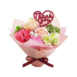 光触媒スタンドブーケ M ピンク│花材 フラワーアレンジメント用品