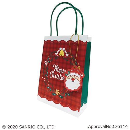 【クリスマス】サンリオ XMAS タテハンドルBAG M 009857
