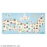 【クリスマス】サンリオ サンタと日本地図 034827│カード・ポストカード クリスマスカード