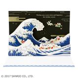 【クリスマス】サンリオ 浮世絵風サンタたち 035009│カード・ポストカード クリスマスカード