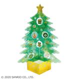 【クリスマス】サンリオ 透明素材緑ツリー 089052│カード・ポストカード クリスマスカード