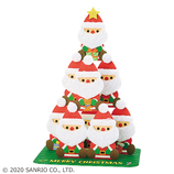 【クリスマス】サンリオ ふかふかサンタツリー 089117│カード・ポストカード クリスマスカード