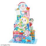 【クリスマス】サンリオ ドラえもんプレゼントボックスツリー 089664│カード・ポストカード クリスマスカード