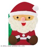 【クリスマス】サンリオ ふかふかサンタMerryChristmas 089761│カード・ポストカード クリスマスカード