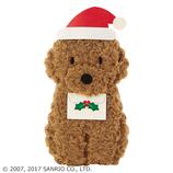 【クリスマス】サンリオ トイプードル 090018│カード・ポストカード クリスマスカード