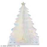 【クリスマス】サンリオ 銀色ツリー 091413│カード・ポストカード クリスマスカード