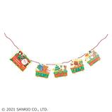 【クリスマス】サンリオ 機関車ガーランド 092461│カード・ポストカード クリスマスカード