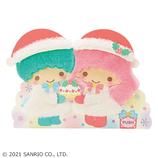 【クリスマス】サンリオ リトルツインスターズふかふか 093963│カード・ポストカード クリスマスカード