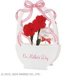 サンリオ 造花付き花かご 401978│カード・ポストカード グリーティングカード