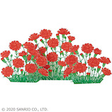 サンリオ レーザーカットカーネーション 402176│カード・ポストカード グリーティングカード