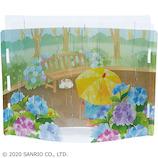 サンリオ 透明素材雨の公園 421812│カード・ポストカード グリーティングカード