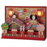 サンリオ 光付き親王飾りカード 424501