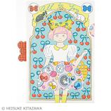 サンリオ ふたりぼんちゃん水玉スカート 617067│カード・ポストカード グリーティングカード